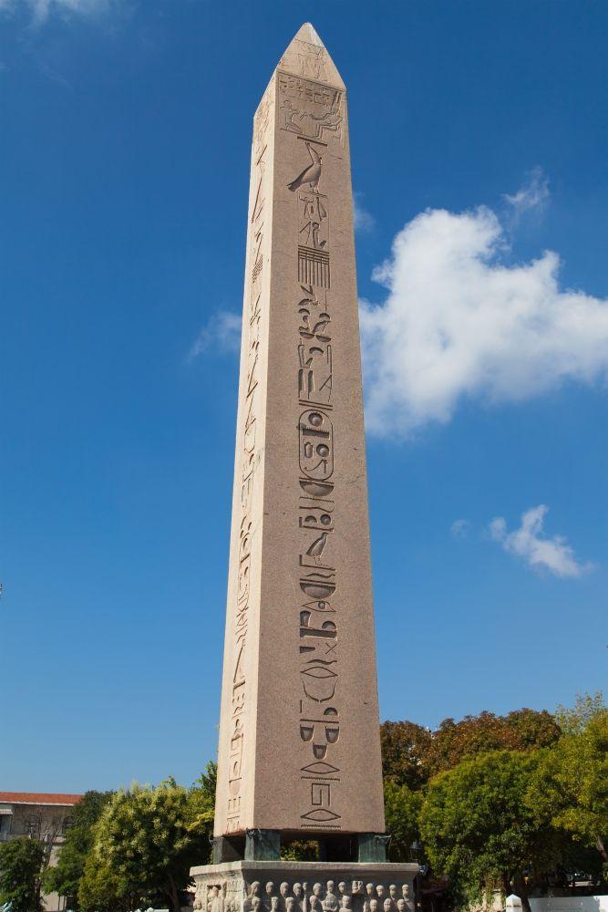 Obelisk of Theodosius, Sultan Ahmet Hippodrome, Istanbul, #Turkey - مسلة تحتموس الثالث، ميدان السلطان أحمد، اسطنبول#