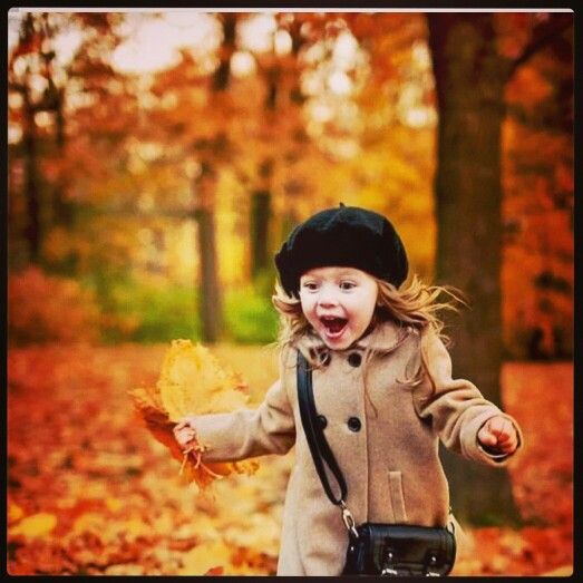 Autumn and fun.