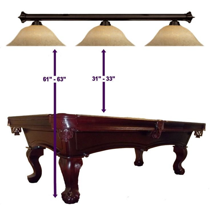 Pool Table Light Height                                                                                                                                                                                 More