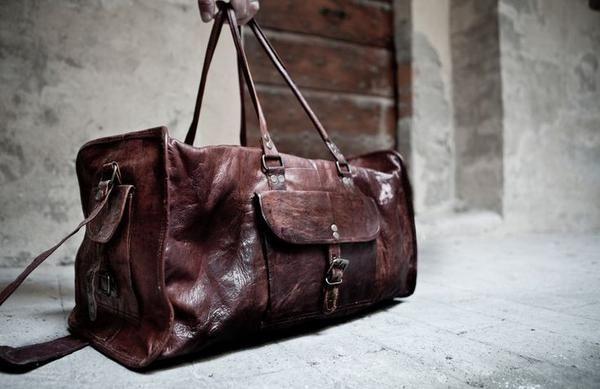 Duffel Bag / skinn / veske / leather goods / Levi fra www.lyle-d.com