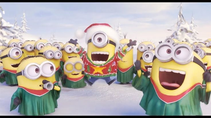 Minions sing Jingle Bell - Christmas 2014