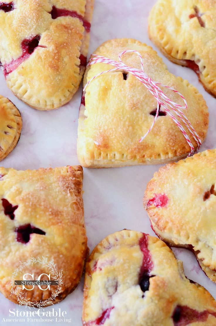 picnic HAND PIES...recipe. I tried this tonight and they're still cooling but they look yummy. I recommend a stencil, I used my largest heart cookie cutter and they started big but shrunk in the chilling process so make your stencil bigger than what you think you'll like.