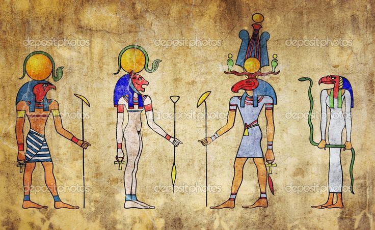 egyptian gods   Egyptian gods   Stock Photo © Michal Boubin #2297333