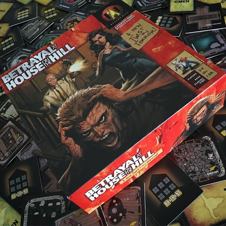 One of our favourite #horror themed games is #betrayalathouseonthehill (usually it has a green cover but we love our old edition artwork). What's yours?#survivalhorror #boardgame #boardgamer #boardgames #boardgaming #tabletop #tabletopgame #tabletopgames #tabletopgaming #juegodemesa #brettspiel #cardgame #cardgames #bgg #boardgamegeek #AvalonHill #insanity #retrohorror #paranoia #gamenight