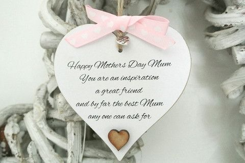 Best Mum By Far Heart - Divine Shabby Chic