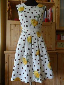 patron de la robe Belladone pour le corsage et le patron de la jupe Chardon (Deer & Doe également) pour le bas de la robe
