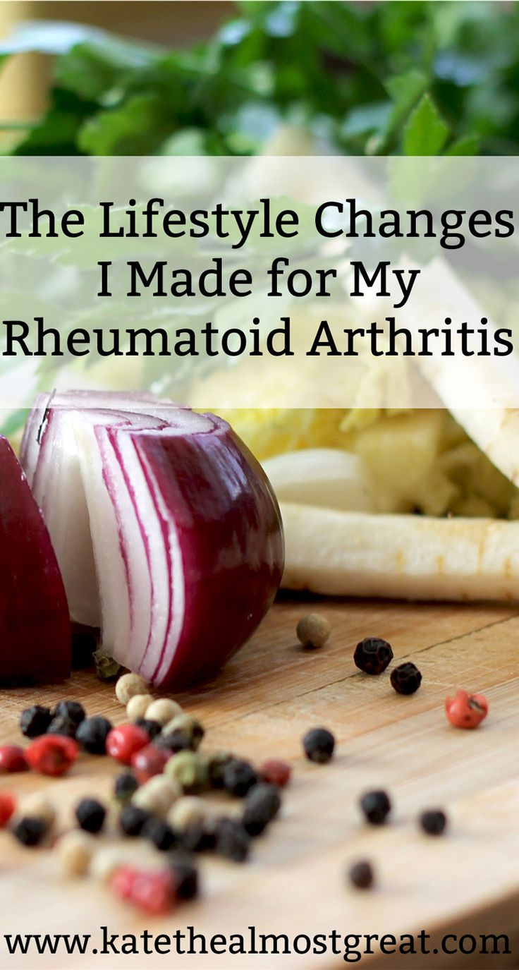 My rheumatoid arthritis management relies heavily on medications, but I would be lying if I said that lifestyle changes didn't help significantly, too. These are the lifestyle changes I made to manage rheumatoid arthritis outside of medications, and I strongly advise that every chronic pain patient consider changing diet for pain, or using exercise to some degree.