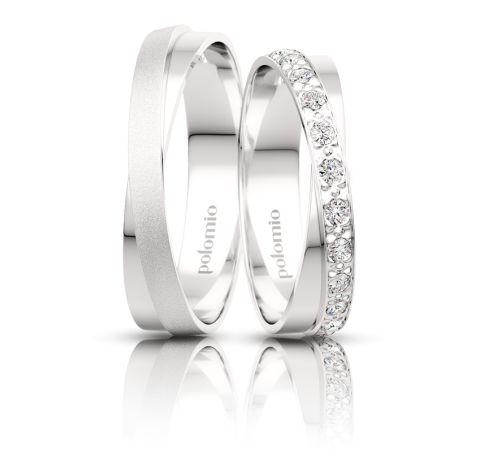 Snubní prsten TARA 5,5-01 s diamantem