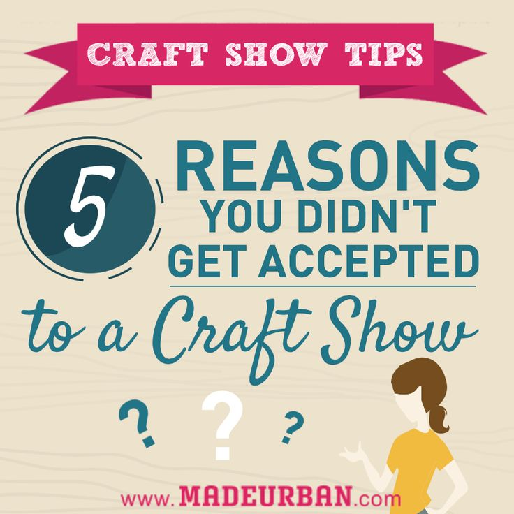 Successful Juried Craft Show Application
