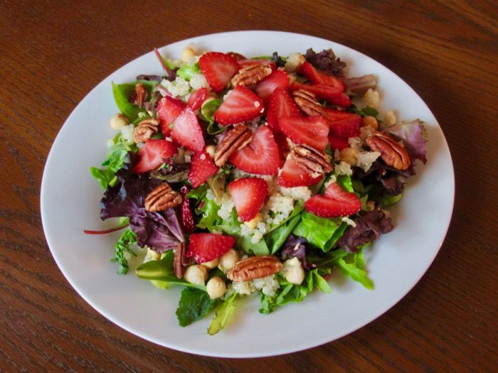 Strawberry Field Salad
