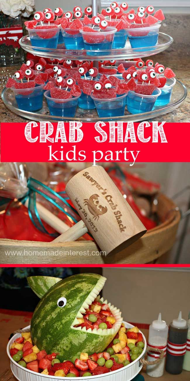 Kids Crab Shack Party