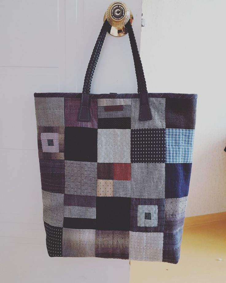Japanese style patchwork bag