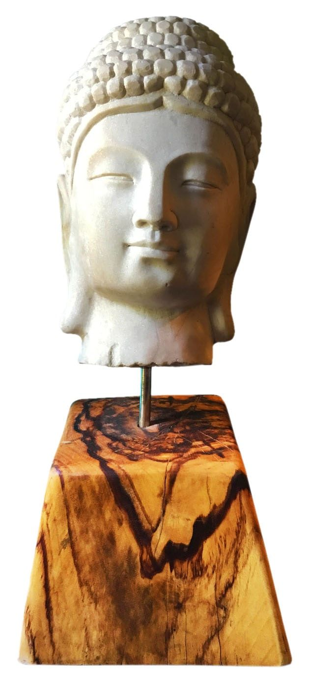 Buy Buddha Head by Kenneth Nilson - Limited Edition designer Sculpture from Dering Hall's collection of Oriental Accessories.