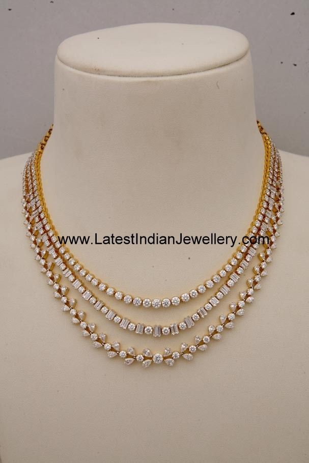 Lovely Designer Diamond Jewellery Gallery