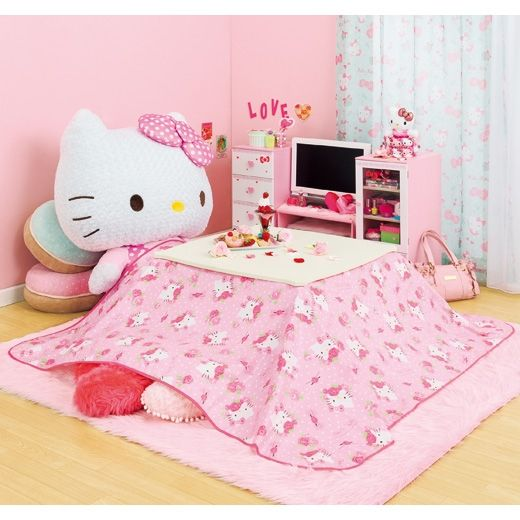 Best 25 hello kitty decor ideas on pinterest hello kitty themes hello kitty photos and hello for Decoration hello kitty chambre