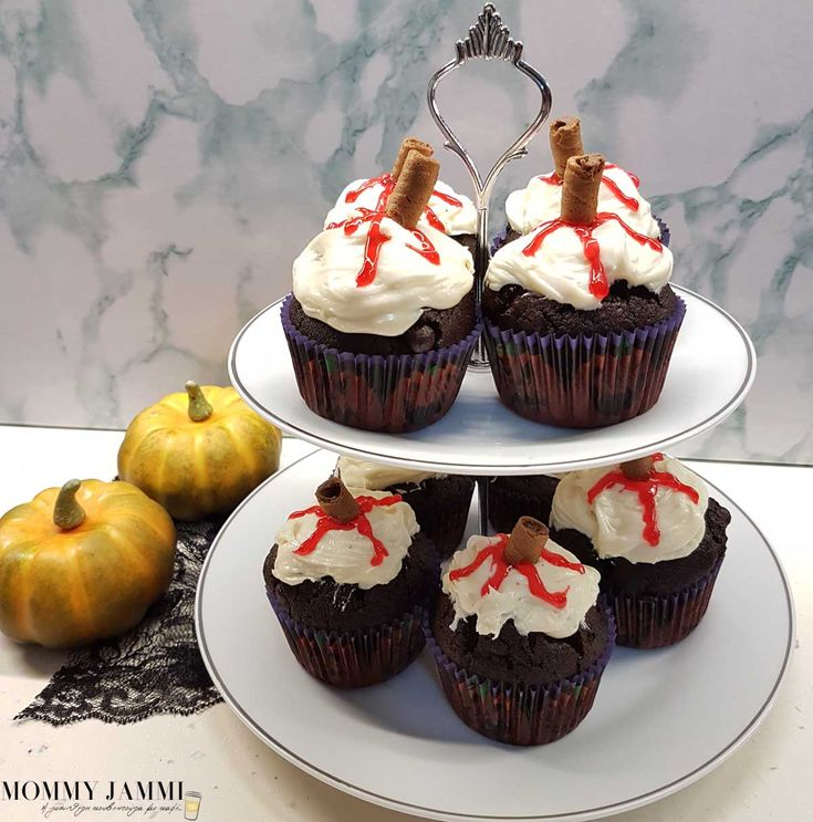 Απίθανα γευστικά cupcakes με άρωμα από Halloween!