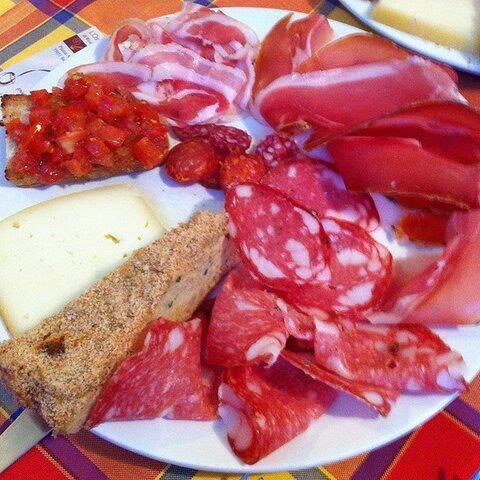 All'Osteria di Riccardo Negri  Barga (LU)
