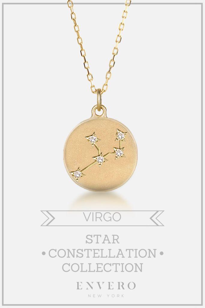 Virgo Constellation Necklace – Envero Jewelry