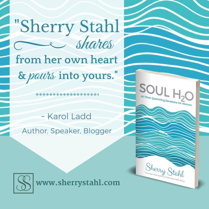 This is what's being said about #SoulH2O by @sherrylynnstahl and it's so true! I pray you preorder now and see what all the goodness is about!