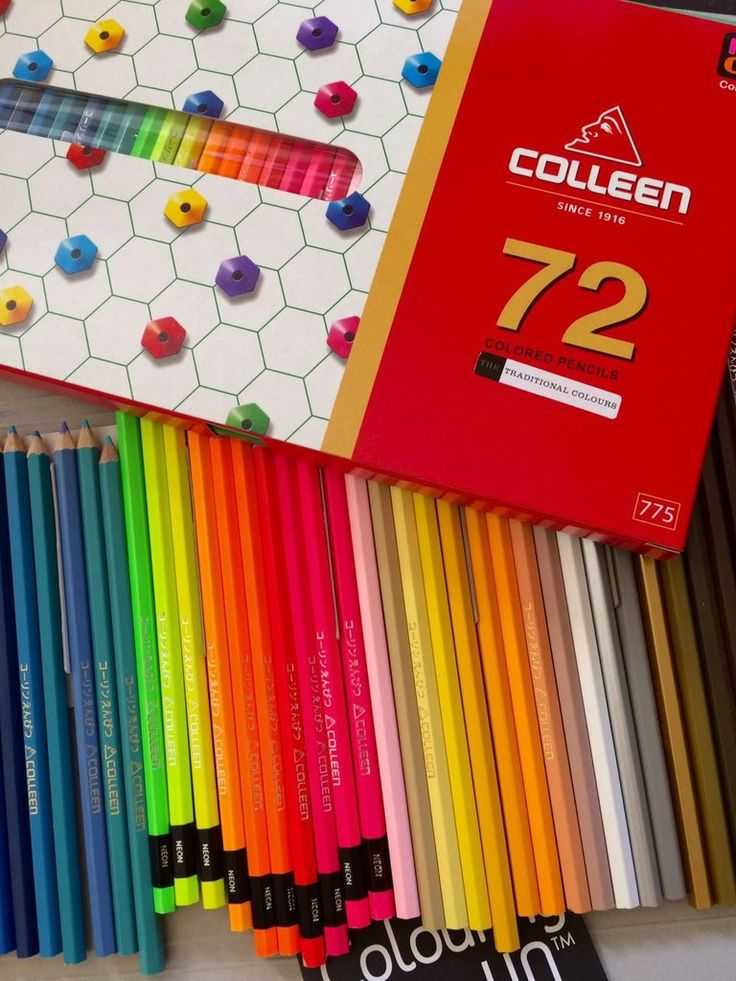 Having a dull week? Why not brighten it with this set of 72 Colleen pencils which includes 10 zesty neons! Colleens never fail to add a sparkle to your step and your colouring-in too!  https://colouring-hq.myshopify.com/…/colleen-neon-72-pencils