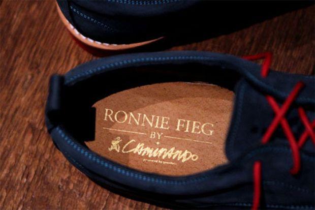 Ronnie Fieg x Caminando 'Nolita' Lace-Up Shoe