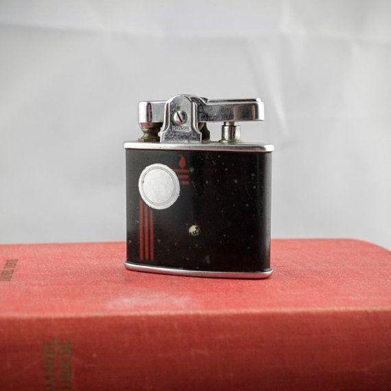 Vintage Ronson Vanstan Lighter  Vanguard Butane by LoAndCoVintage