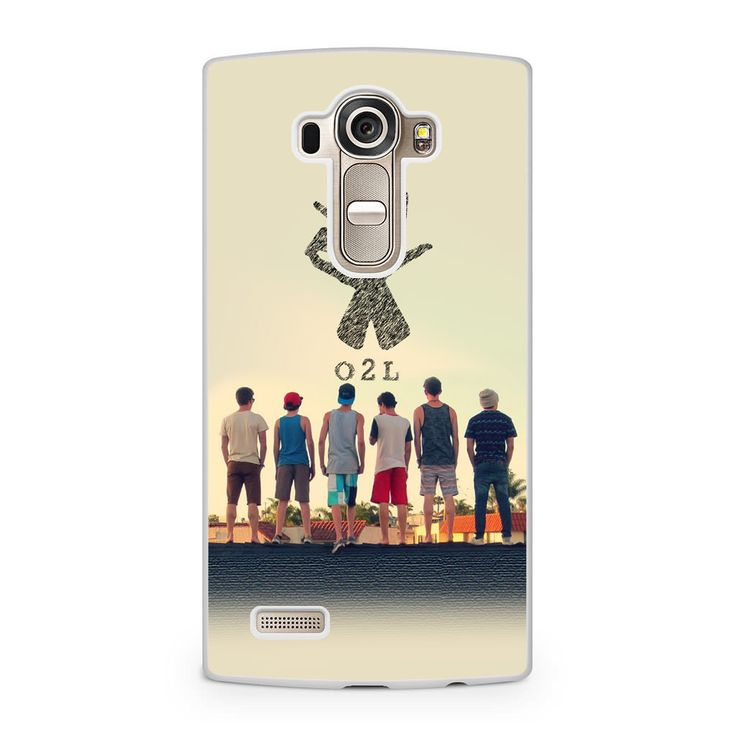 O2l Collage Hand Sign LG G4 Case