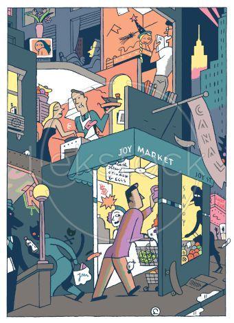 New York activity © Ever Meulen