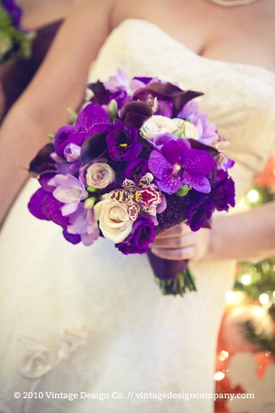17 Best Images About Purple And Purple Tones Bouquets On