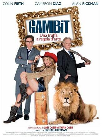 Gambit, una truffa a regola d'arte.  Arte, truffa e vendetta si incontrano nella commedia diretta da Michael Hoffman e sceneggiata  dai fratelli Cohen