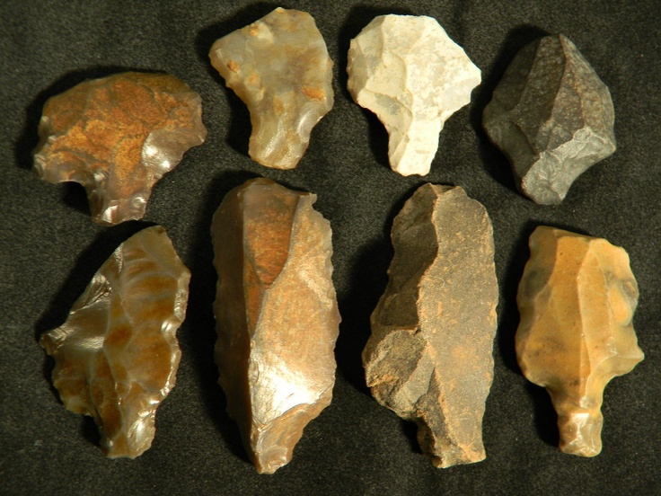 Caveman Artefacts : Best images about paleo artifacts tools arrowheads on