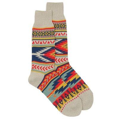 navaho printed socks