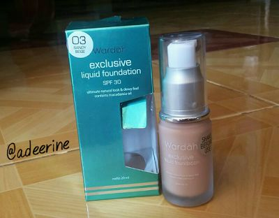 Beginner Beauty Enthusiast: REKOMENDASI FOUNDATION LOKAL BAGUS !!!  WARDAH EXC...