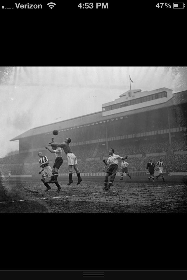 White Hart Lane. Tottenham, London 1938