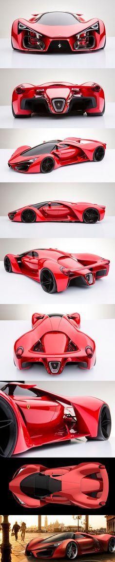 Ferrari F80 Concept love this car. Max speed 310 2.2 seconds 0-62, 15 seconds 0-186 and 1 minute 20 seconds 0-310 my God I love this car ...repinned für Gewinner! - jetzt gratis Erfolgsratgeber sichern www.ratsucher.de