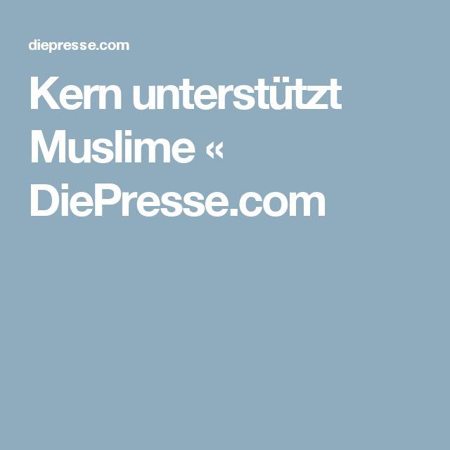 Kern unterstützt Muslime « DiePresse.com