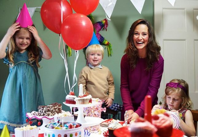 Pippa Middleton: There are many reasons to want to attend a party thrown by Pippa Middleton including, she is really good at it as evidenced by the pic above/her premiere book Celebrate: A Year of Festivities for Families and Friends.