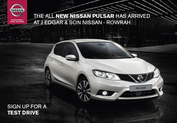 The latest model to join the fabulous Nissan range - now available from J Edgar & Son at Rowrah - www.edgars.co.uk
