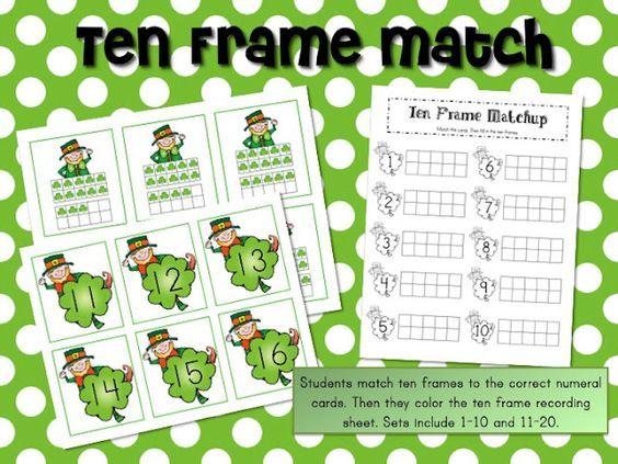 Omgosh!!!!!!!! 21 FREE FREE FREE math and literacy center activities from mrs. ricca's kindergarten blog