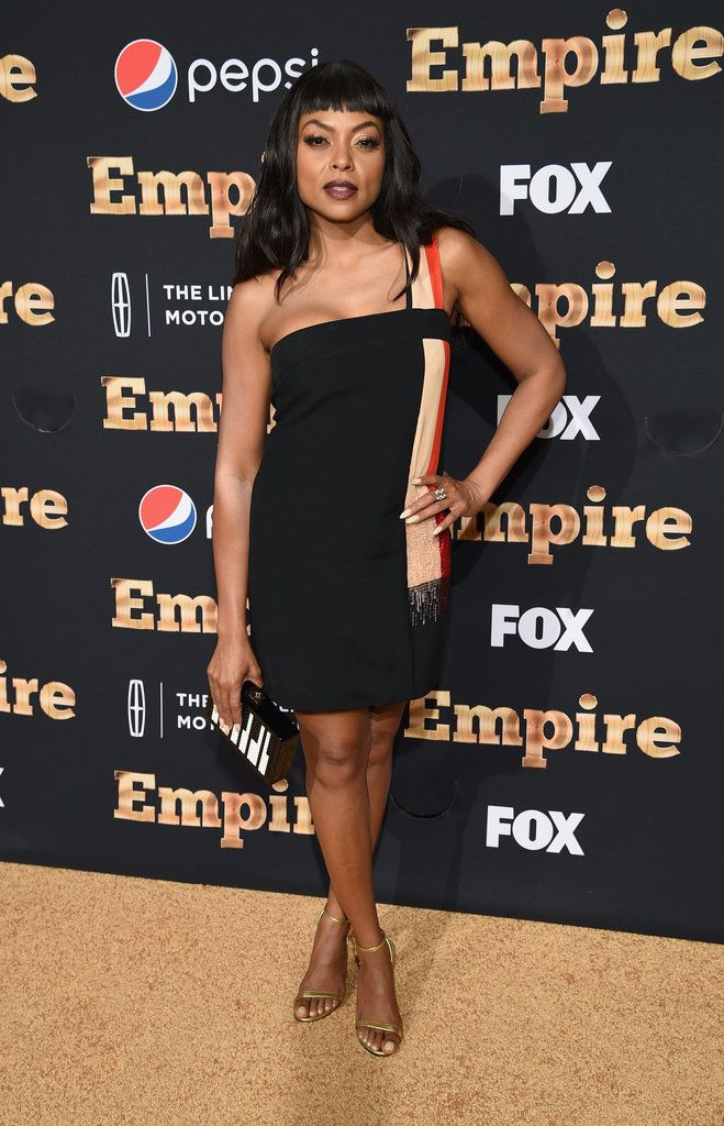 All eyes were on Taraji P. Henson at the season two premiere of Empire in New York City