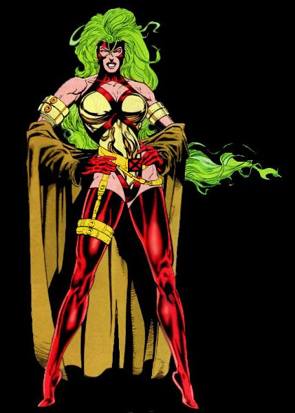 Lorna Dane - Polaris' weirdest costume.