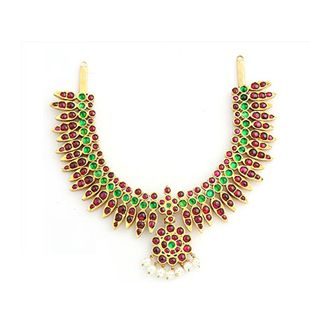 Sukra Jewellers are truly the pros at temple jewellery!