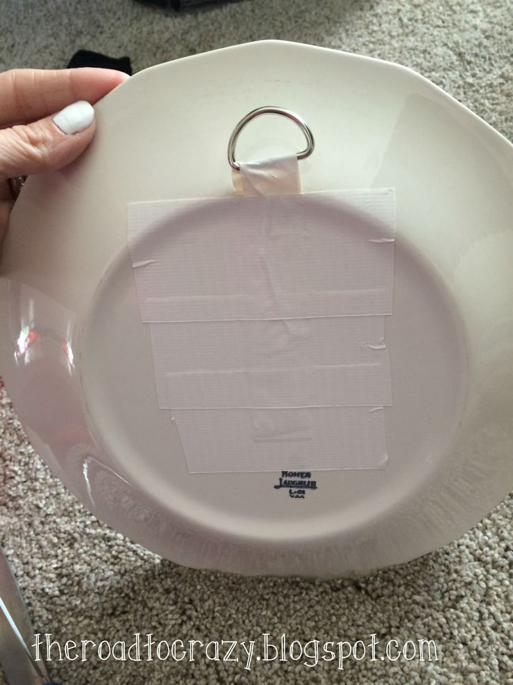 The Road To Crazy Diy Plate Hangers