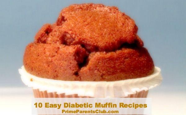 Easy Diabetic Muffin Recipes #muffins #diabetic #recipes
