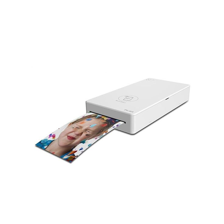 PicKit Mobile Photo Printer - The PicKit Portable Photo Printer allows you to print photographs from your mobile device whenever and wherever you want! This printer connects to your device via the built-in Wi-Fi Access Point, NFC or Wi-Fi Direct (no router required), and lets you print your photos wirelessly using the free PicKit app.