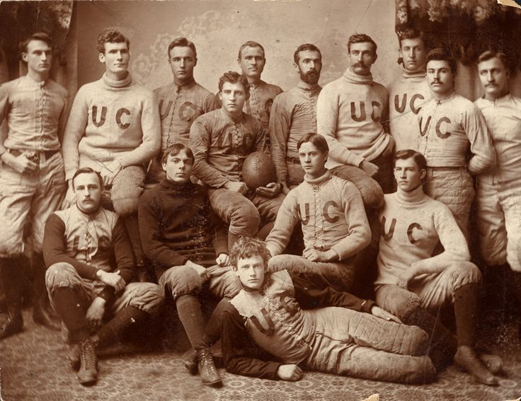 Why have one vintage boyfriend when you can date the whole team? - University of Chicago football team, 1892