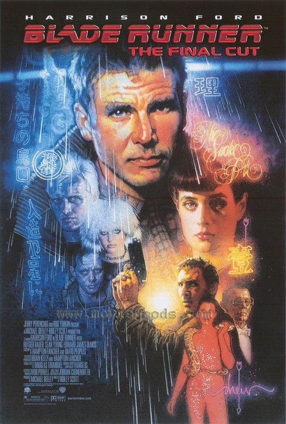 Blade Runner - The Final Cut 11x17 Movie Poster (2008)