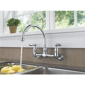 18 Best Wall Mount Faucets Images On Pinterest  Wall Mount Fascinating Discount Kitchen Faucets Design Ideas