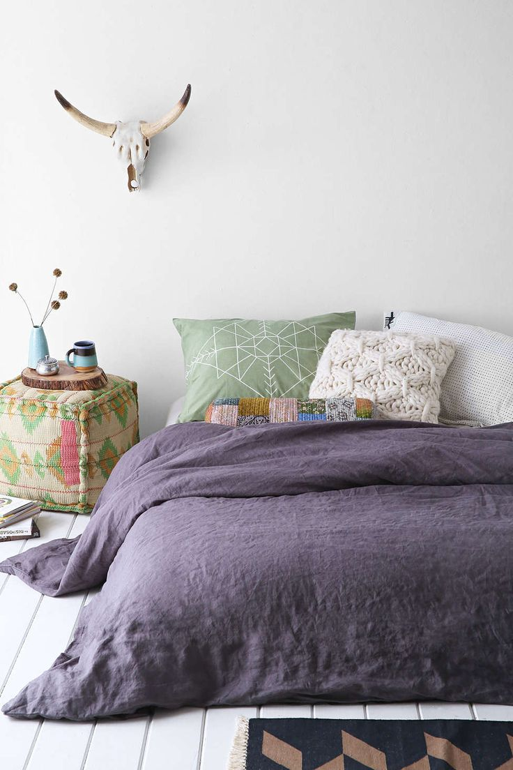 Linen Duvet Cover - Urban Outfitters
