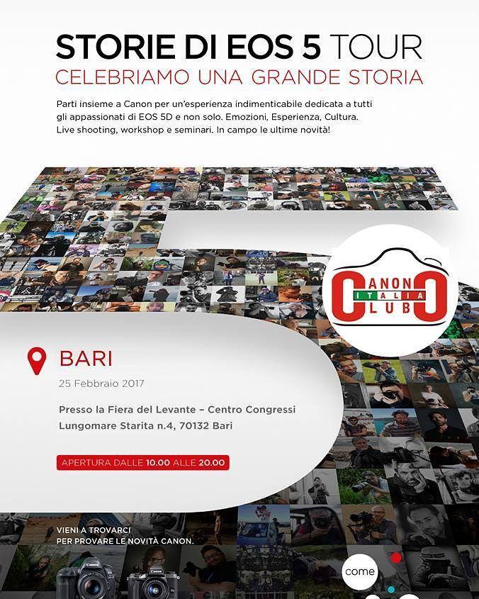"""INVITO CON SORPRESA: Stampa e presenta questo PDF all'evento: http://ift.tt/2mccYLo Invitiamo tutti gli iscritti a questa community a questo evento ma ricordati di passare dalla postazione IRISTA con la stampa del coupon troverai una simpatica sorpresa a te riservata. Passaggi da fare: 1) registrati qui: http://ift.tt/2eIGrIY  alla voce """"altre fotocamere"""" scrivere """"Canon Club Italia"""" 2) stampa questo coupon: http://ift.tt/2mccYLo 3) Presenta il coupon speciale allo stand IRISTA dove…"""